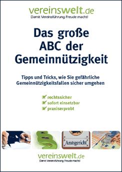 Das große ABC Der Gemeinnützigkeit