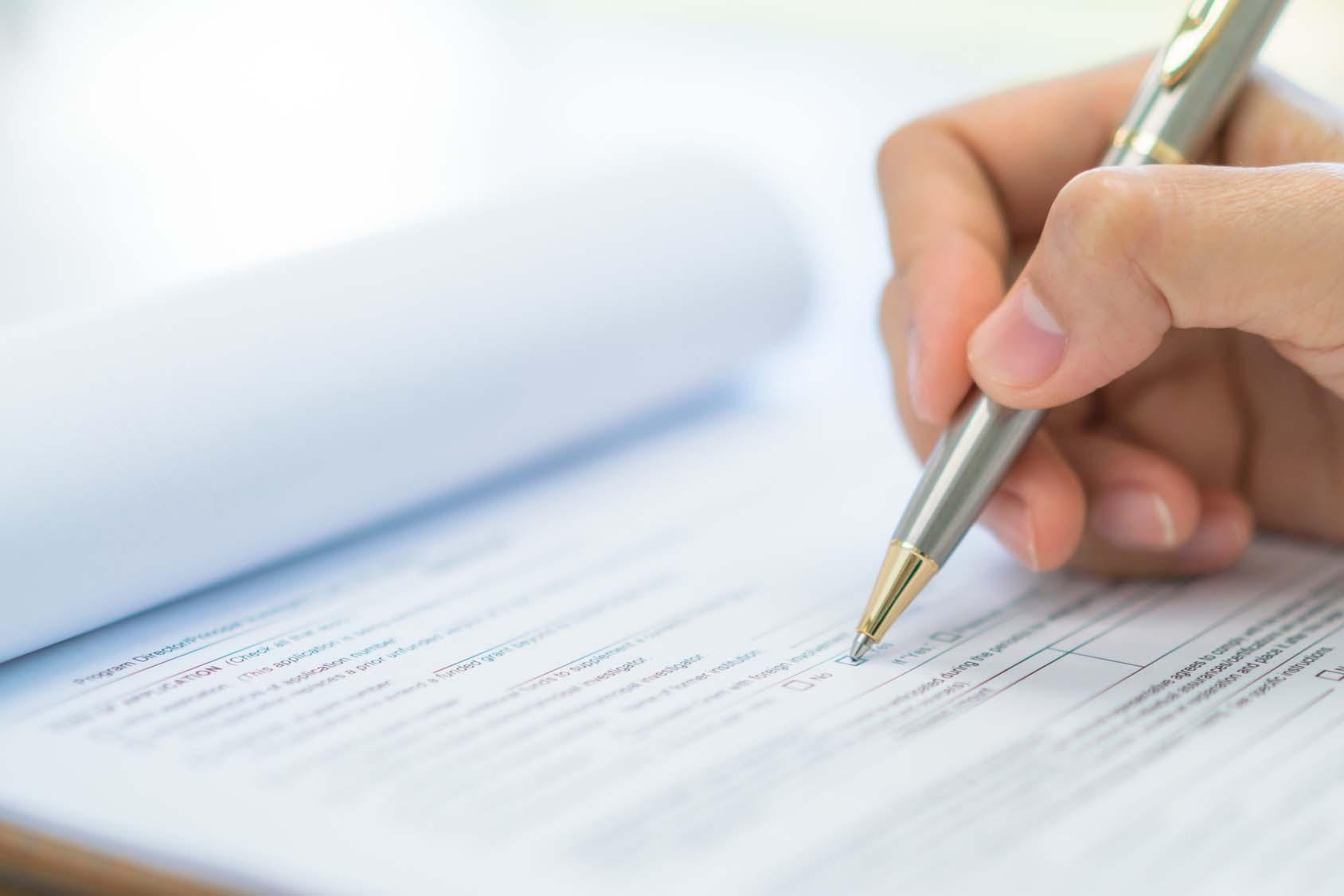 So gestalten Sie Ihren Aufnahmeantrag 2018 rechtssicher und datenschutzrechtlich korrekt