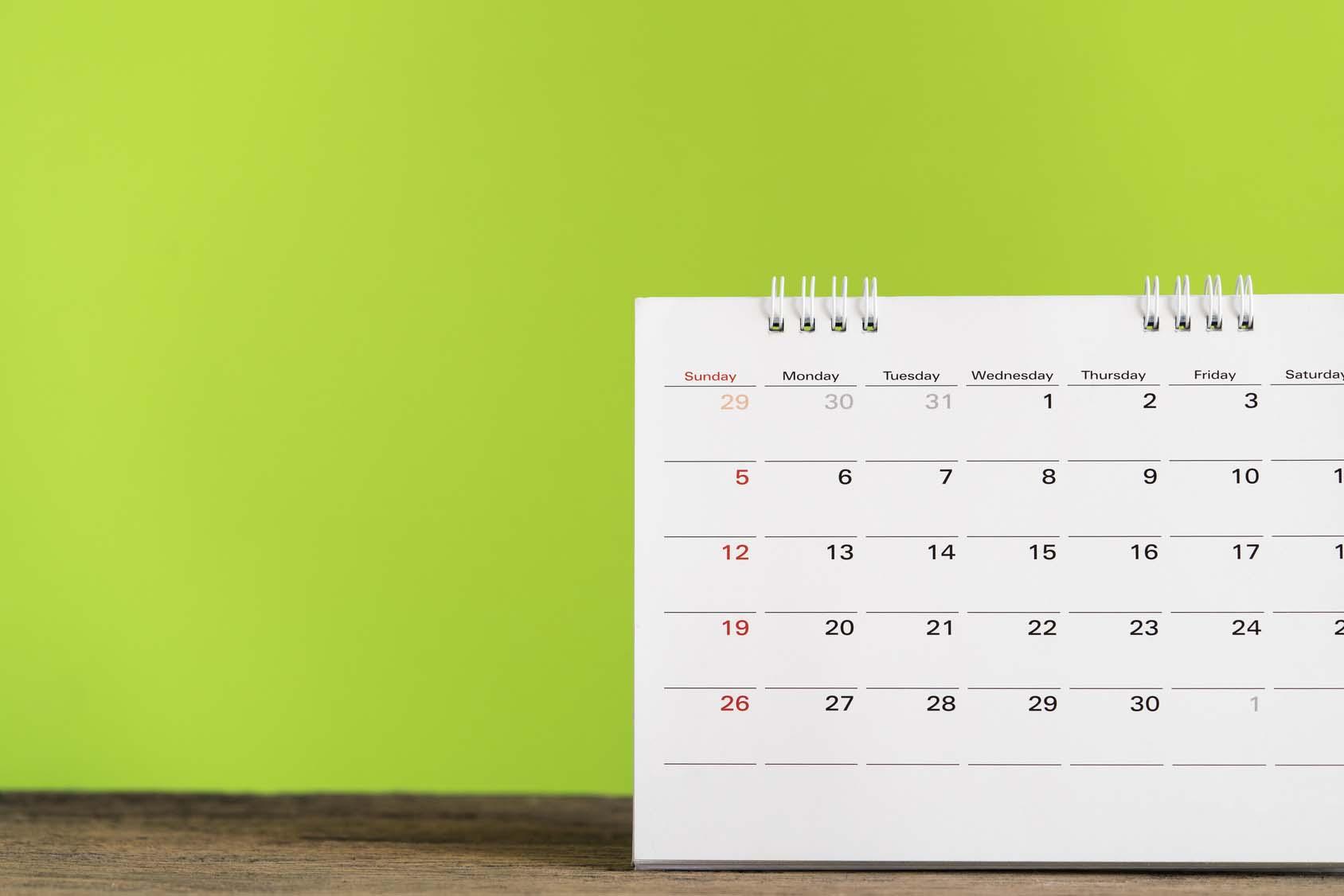 Stellen Sie Ihre Spendenbescheinigungen immer für das korrekte Datum aus