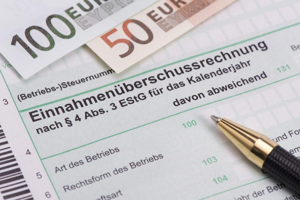 Einnahme-Überschuss-Rechnung, Verein, Bilanz, Gewinn, Finanzamt
