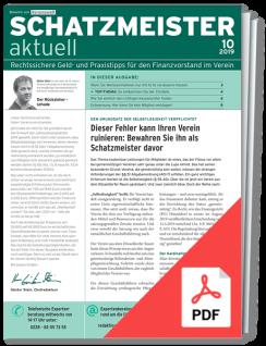 Schatzmeister aktuell – online