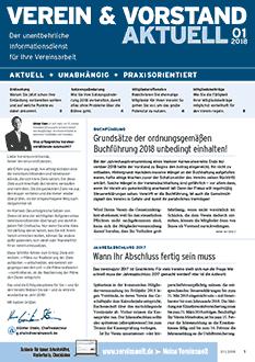Verein & Vorstand aktuell